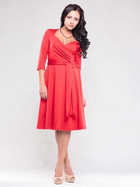 Платье красное Maurini 1545317