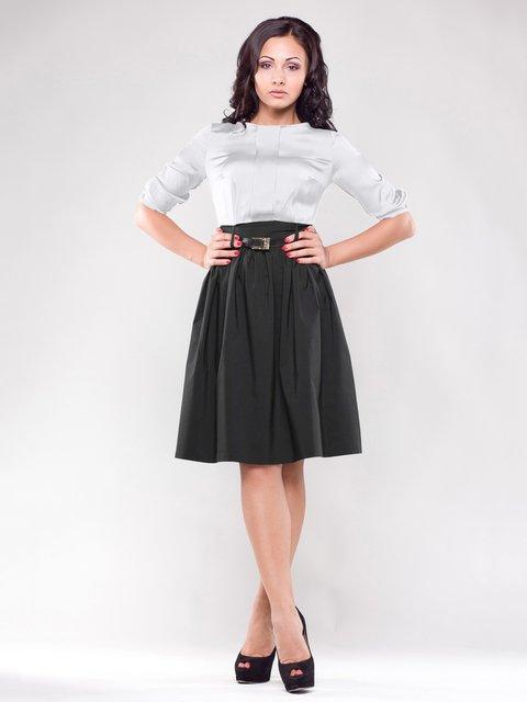 Платье черно-белое Dioni 1549644