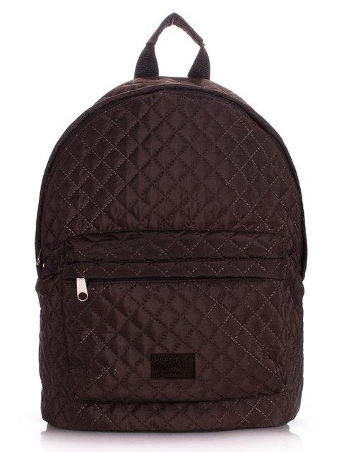 Рюкзак коричневый Poolparty 1567960