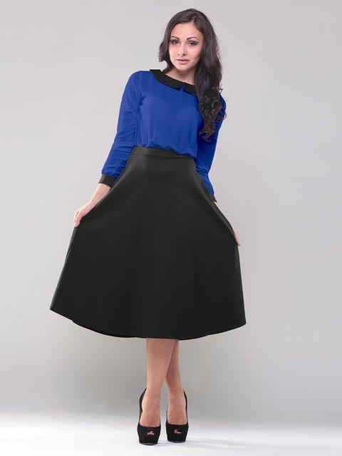 Платье сине-черное Dioni 1583482