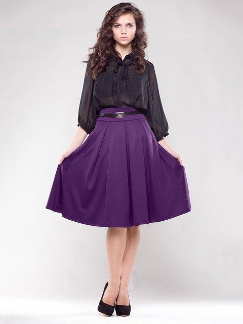 Юбка фиолетового цвета Maurini 1593247