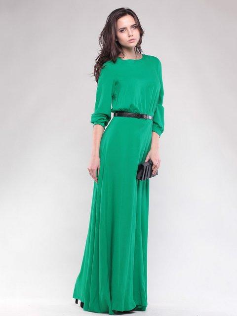 Платье нефритового цвета Maurini 1599788