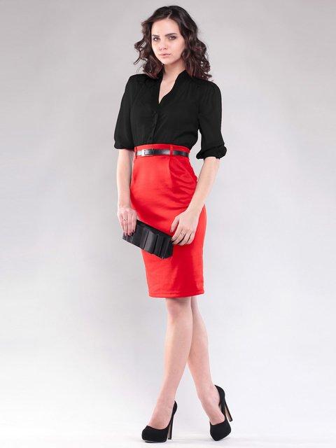 Сукня чорно-червона Dioni 1604476