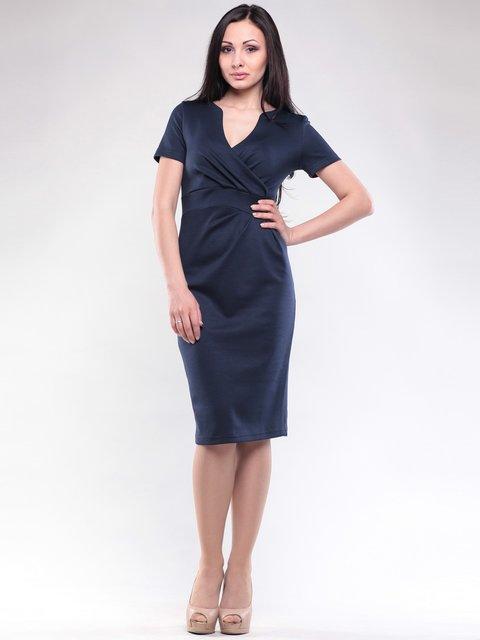 Платье темно-синее Rebecca Tatti 1619678