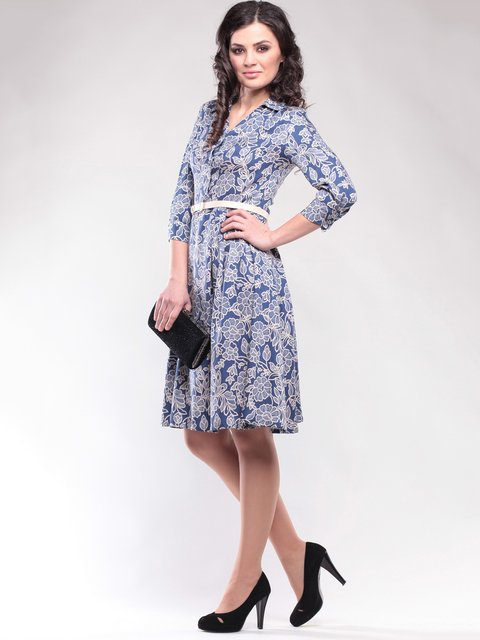 Платье в принт Dioni 1647161