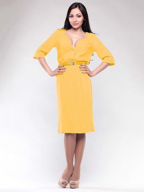 Платье желтое Dioni 1659658