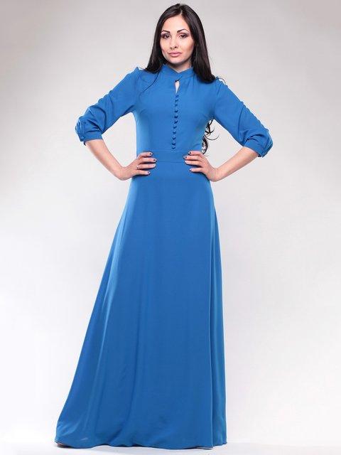 Платье цвета электрик Dioni 1659675