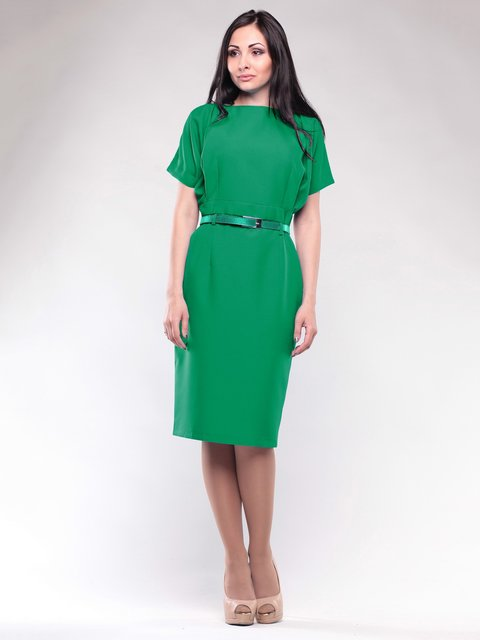 Платье изумрудное Rebecca Tatti 1663572