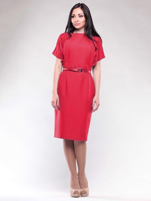 Платье красное Rebecca Tatti 1663581
