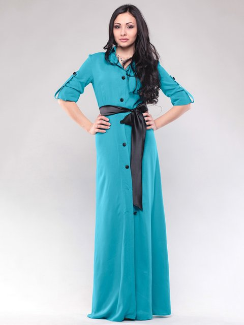 Сукня бірюзова Maurini 1663519