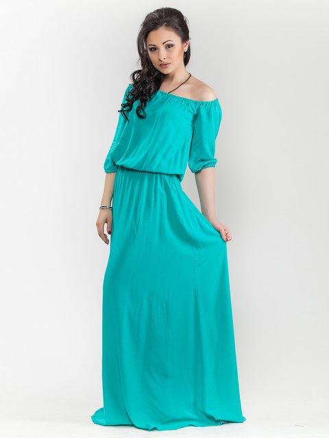 Платье бирюзовое Maurini 1671679