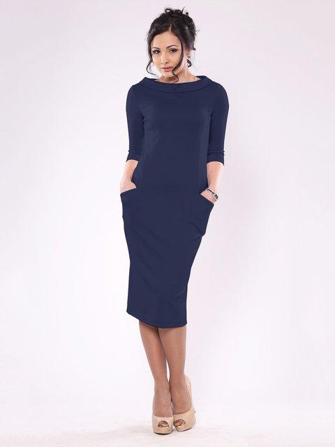 Сукня темно-синя Laura Bettini 1679543