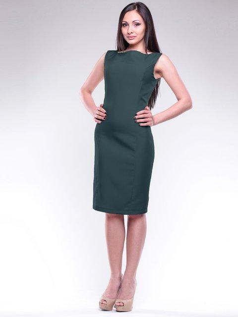 Платье темно-изумрудное Maurini 1716963
