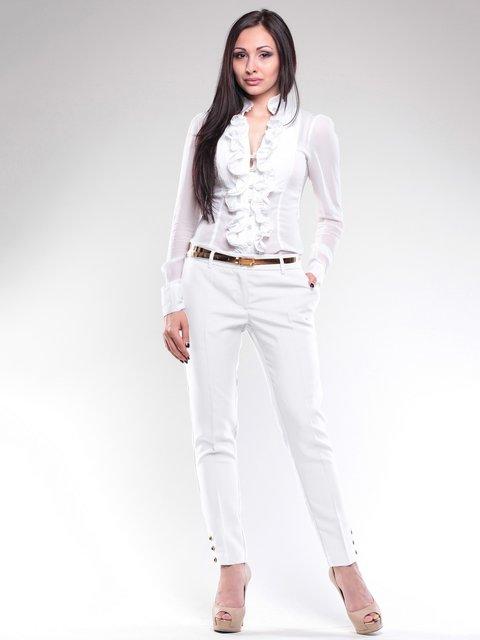 Брюки белые Laura Bettini 1724875