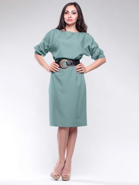 Платье оливковое Maurini 1726803