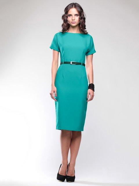 Платье темно-ментолового цвета Dioni 1734399