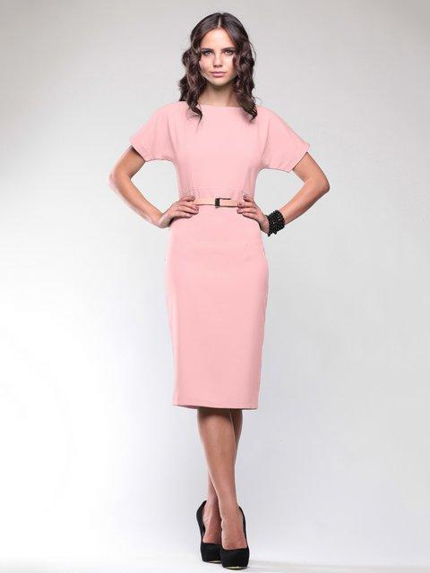 Платье персиковое Dioni 1737610