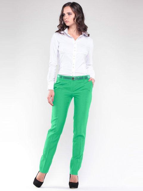 Штани зелені Rebecca Tatti 1741578