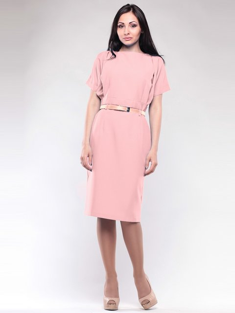 Платье персиковое Rebecca Tatti 1741581