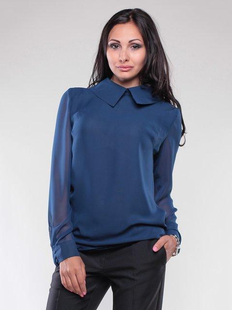 Блуза темно-синяя Maurini 1746763
