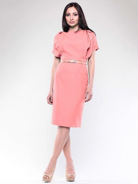 Платье персикового цвета Rebecca Tatti 1746844