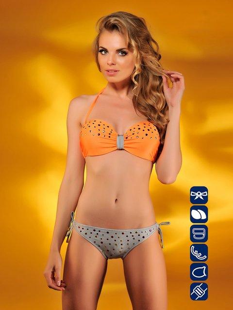 Купальник сіро-помаранчевий Kathrin 1747418