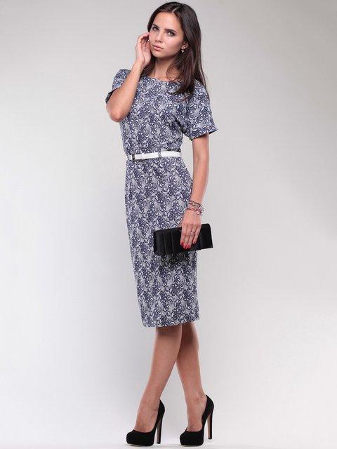 Платье в принт Dioni 1754238