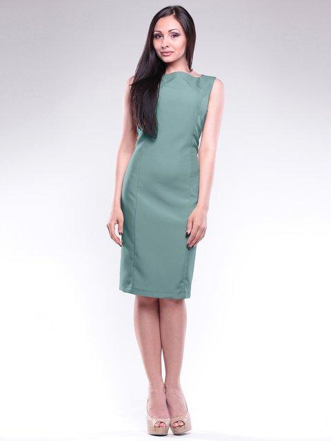 Платье оливкового цвета Maurini 1762993