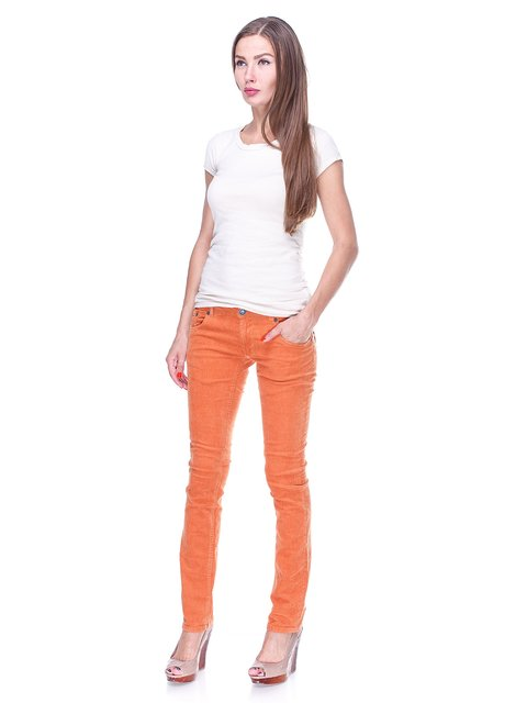 Брюки оранжевые Terranova 1463167