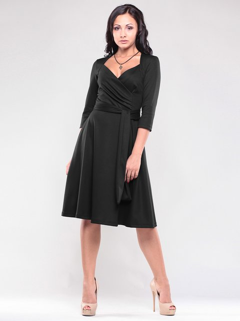 Платье черное Maurini 1796936
