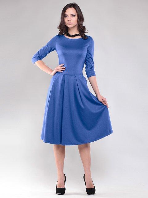 Платье синее Maurini 1796947