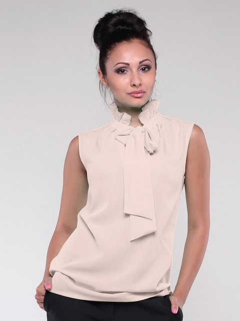 Блуза бежевая Dioni 1801261