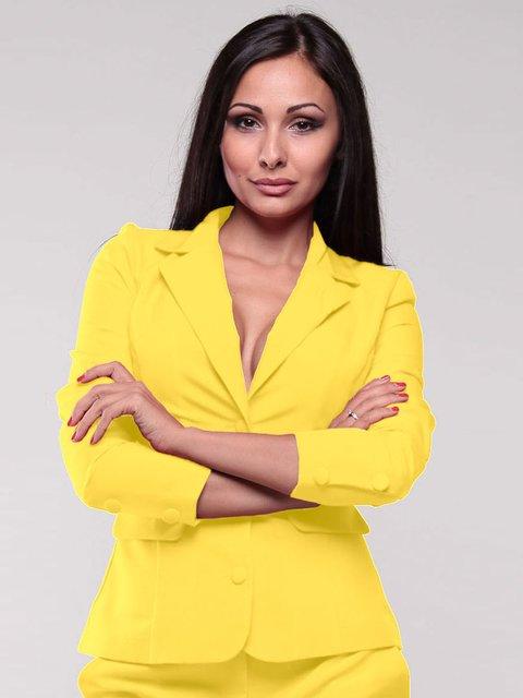 Жакет желтый Dioni 1801267