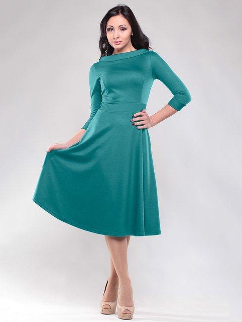 Сукня темно-смарагдового кольору Maurini 1815698