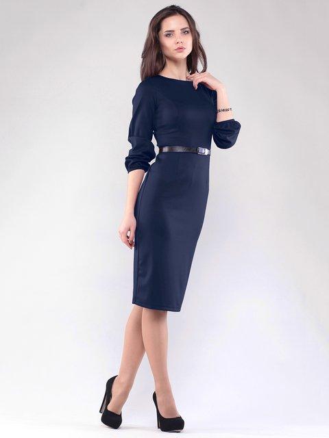 Платье темно-синее Rebecca Tatti 1815716