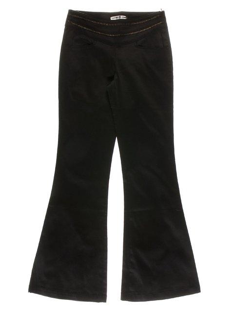 Брюки черные с отделкой MrK 1466693