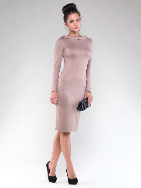 Сукня кольору моко Maurini 1832226