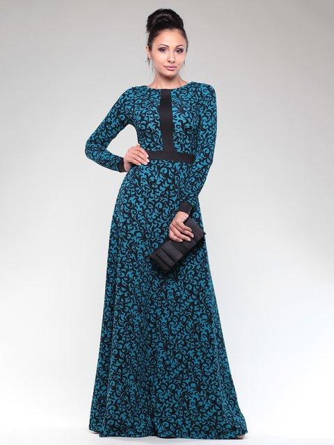 Сукня двоколірна у візерунок Maurini 1832292