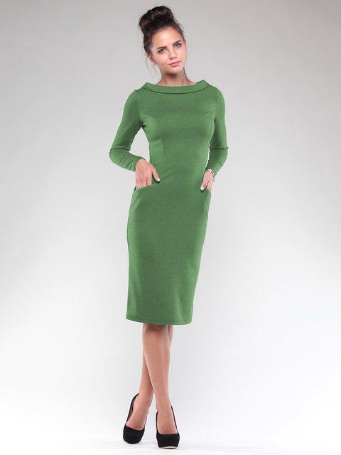 Сукня кольору зеленої оливи Maurini 1832227