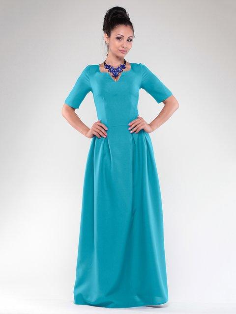 Платье бирюзовое Dioni 1832182