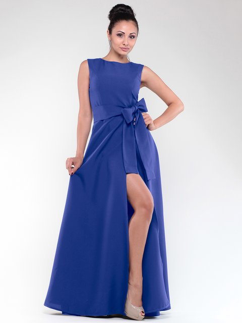 Платье цвета электрик Laura Bettini 1838224