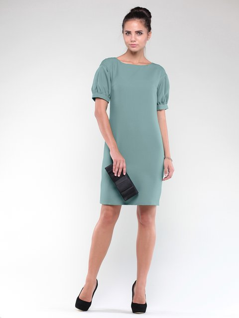Платье оливковое Maurini 1842231