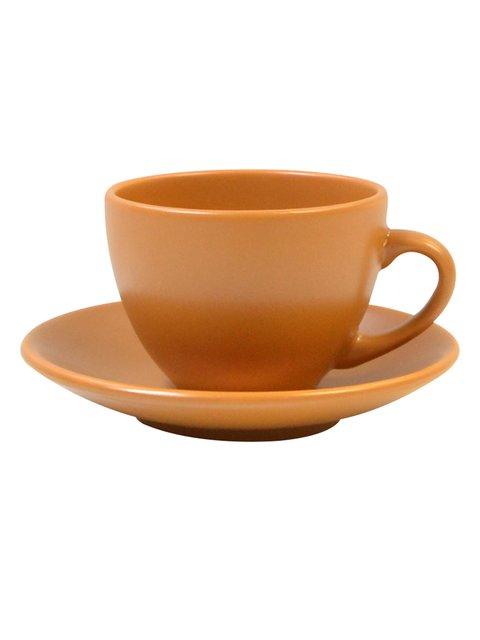 Чашка (207 мл) з блюдцем Keramia 1849513