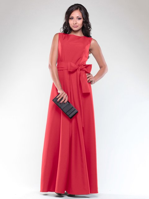 Платье красное Maurini 1850688