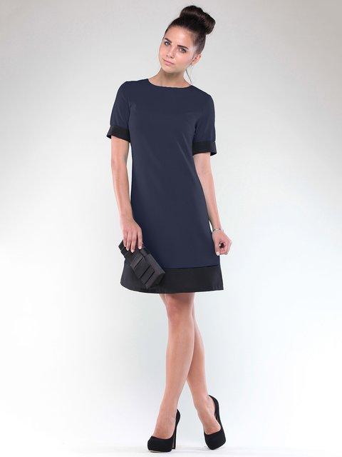 Платье сине-черное Rebecca Tatti 1850748