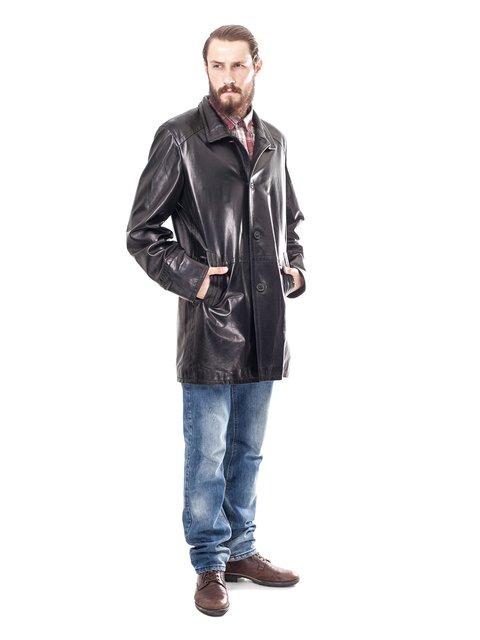 Куртка чорна Al Franco 1853371