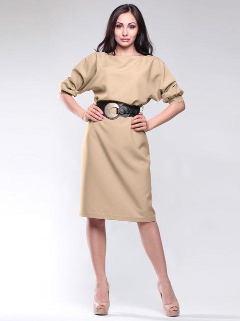Платье цвета мокко Maurini 1861176