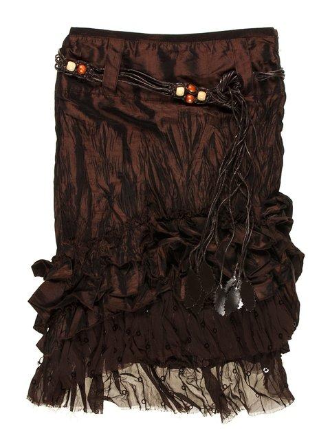 Юбка коричневая Hoo Ponette 1878996