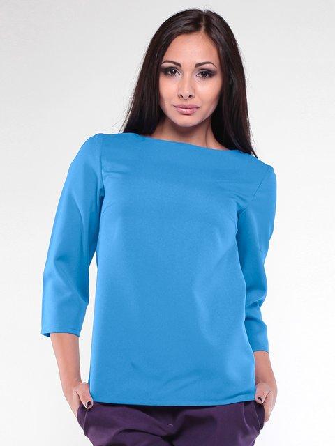 Блуза бирюзовая Laura Bettini 1896892