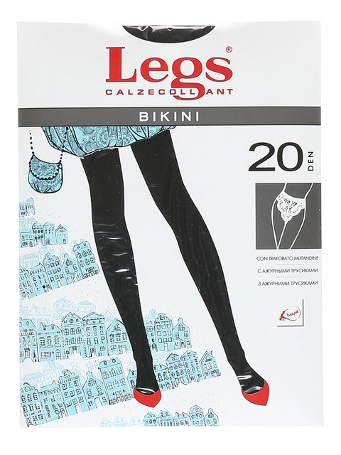 Колготки чорні 20 Den Legs 1895978